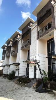 Luxury 4 Bedroom Terrace Duplex + 1 Room Bq, Guzape District, Abuja, Terraced Duplex for Rent