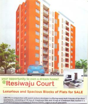 50 Units of 3 Bedroom  Serviced Luxury Apartment, Itesiwaju Court, Mile 2, Amuwo Odofin, Isolo, Lagos, Flat for Sale