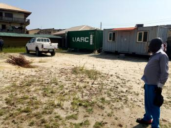 609sqm Estate  Land with Two 20ft Containers, Ologolor, Opposite Osapa, Jakande, Lekki, Lagos, Mixed-use Land for Rent