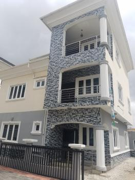Contemporary 4 Bedroom Duplex with a Bq in a Serene Environment Well Fitted with Ample Parking Space, Off Victory Park, Osapa, Lekki, Lagos, Semi-detached Duplex for Rent