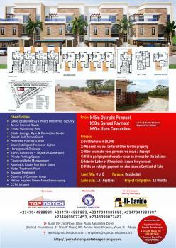 Top-notch 4 Bedroom with Bq, Tred Estate Road, Dakibiyu, Abuja, Terraced Duplex for Sale