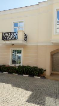 Luxury Serviced 4 Bedroom Terraced Duplex with a Room Bq, Off Ibb Boulevard, Maitama District, Abuja, Terraced Duplex for Rent