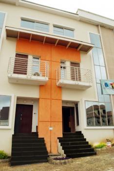 4 Bedrooms Terrace Duplex with Bq, Guzape District, Abuja, Terraced Duplex for Rent