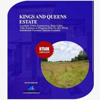 Kings and Queens Estate By Proposed 4th Mainland Bridge, Lagos, Oriba, Eleranigbe, Ibeju Lekki, Lagos, Mixed-use Land for Sale