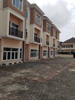 Beautiful Serviced 4 Bedroom Terrace House with Maids Room, Osapa, Lekki, Lagos, Terraced Duplex for Rent