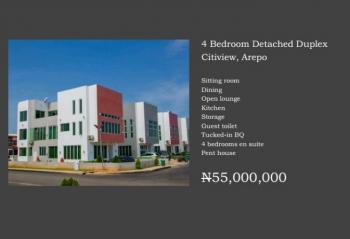 Luxury 4bedroom Detached Duplex, Citiview Estate, Opic, Isheri North, Lagos, Detached Duplex for Sale