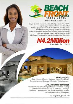 an Approved Excision Land, Akodo Ise, Ibeju Lekki, Lagos, Residential Land for Sale