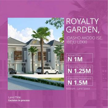 Royalty Garden, Idasho, Akodo Ise, 2 Mins Drive After Lacampagne Tropicana Resort, Akodo Ise, Ibeju Lekki, Lagos, Residential Land for Sale