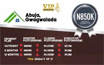Vip Garden, Gwagwalada, Abuja, Gwagwalada, Abuja, Gwagwalada, Abuja, Residential Land for Sale