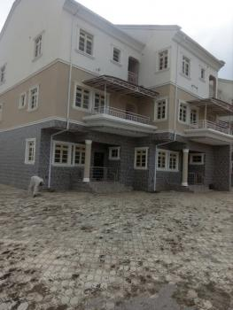 5 Units of Newly Built 4 Bedroom Terrace Duplex with a Room Boys Quarters Each and 2 Living Rooms, Kado, Abuja, Terraced Duplex for Sale