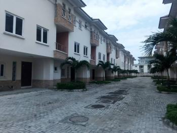 Beautifully Designed and Well Finished 4 Bedroom Terrace Duplex with 1 Room Boys Quarters, By Second Toll Gate, Lekki Expressway, Lekki, Lagos, Terraced Duplex for Rent