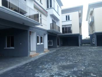 Well Built 4 Bedroom Terrace Duplex with 1 Room Boys Quarters, Chevy View Estate, Lekki, Lagos, Terraced Duplex for Rent