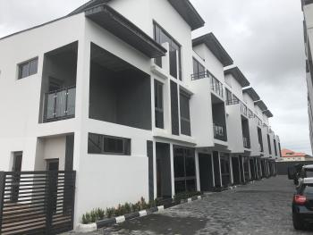 Luxury 5 Bedroom Terraced Duplex with Bq , 24 Hours Power Supply, Swimming Pool and Gym, Lekki Phase 1, Lekki, Lagos, Terraced Duplex for Rent