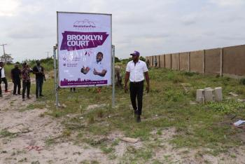 Buy 5 Plots and Get One Plot Free at Brooklyn Court, 5min Awy From Lacarpan Tropicana Resort, Brooklyn Court,  5 Min Drive From Lacarpan Tropicana Resort, Eleko, Ibeju Lekki, Lagos, Mixed-use Land for Sale