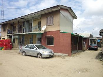 Ground Floor 2 Bedroom Flat with One Room Self Contained, Bank Olemoh, Off Akerele, Surulere, Lagos, Flat for Sale