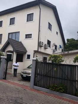 Water View Luxury 5 Bedroom Semi-detached Duplex with 2 Rooms Boys Quarters in Osborne Foreshore Estate Phase 1 Estate, Ikoyi, Osborne, Ikoyi, Lagos, Semi-detached Duplex for Sale