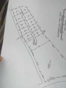 10 Plots of Land with a Layout Plan, By Akwaka Junction Or First Transformer, Rumuodomaya, Port Harcourt, Rivers, Mixed-use Land for Sale