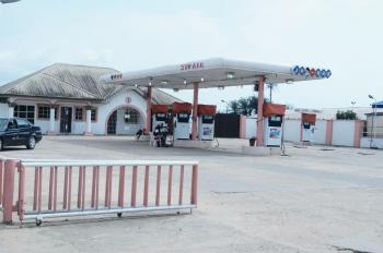 Filling Station on Land Measuring 930.380sqm with 4pumps and 3 Underground Tank, Pms 45,000 Litres, Warri, Delta, Filling Station for Sale
