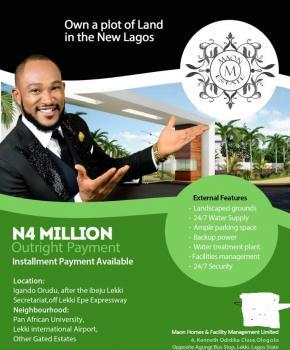 Maon Estate, Maon Estate, Orudu Igando, Eleko, Ibeju Lekki, Lagos, Mixed-use Land for Sale