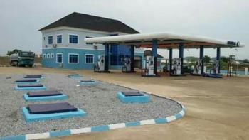 Large Gas Station Sited on 7800sqms, Centenary, Kiami, Lugbe District, Abuja, Filling Station for Sale