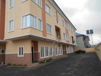 Luxury 4 Bedrooms Terraced Duplex with Excellent Facilities, Off Kusenla Road, Ikate Elegushi, Lekki, Lagos, Terraced Duplex for Rent