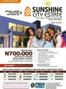 Sunshine City Estate, Umuwuagwu Village, By Ibusa Road, Oshimili North, Delta, Mixed-use Land for Sale