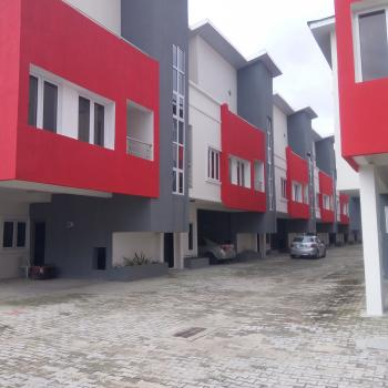 4 Bedroom (all En Suite with Wardrobe)  Serviced Terrace Apartment with Parking Space for 2 Cars + Bq, Ikate Elegushi, Lekki, Lagos, Terraced Duplex for Sale