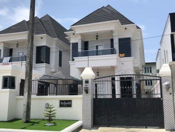 Tastefully Finished Luxury 5 Bedroom Duplex with Bq with Inverter and Solar Penals, Osapa, Lekki, Lagos, Detached Duplex for Sale