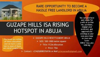 Plots of Land, Zone 27e, Guzape District, Abuja, Residential Land for Sale