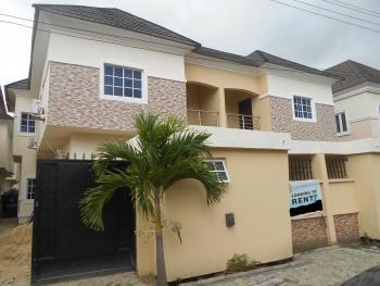 Luxury 4 Bedrooms Semi-detached Duplex with Excellent Facilities, Chevron Road, Chevy View Estate, Lekki, Lagos, Semi-detached Duplex for Rent