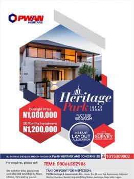 Heritage Park, Ibeju-lekki (few Plots Remaining), Ashagun, Folu Ise, Ibeju Lekki, Lagos, Mixed-use Land for Sale