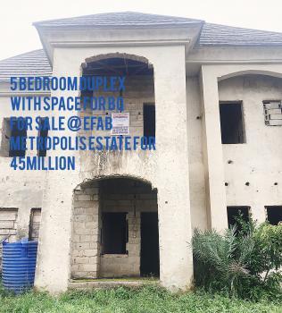 5 Bedroom Duplex with Space for Bq, Efab Metropolis Estate, Karsana, Abuja, Terraced Duplex for Sale