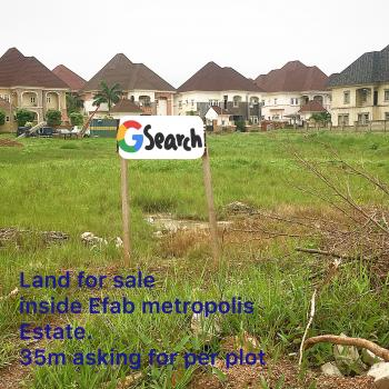 6 Plots of Land, Efab Metropolis Estate, Karsana, Abuja, Residential Land for Sale