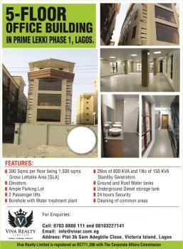Brand New Office Building in Lekki Phase 1, Lekki Phase 1, Lekki, Lagos, Office Space for Sale