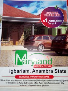 Estate Lands, Maryland Garden Estate, Igbariam, Anambra, Anambra, Residential Land for Sale