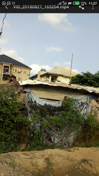 Half Plot of Land in Ajao Estate, Off Int Airport Road, Eyituoyo Omatshola Street,  Off Baale Anaimashaun Road, Ajao Estate, Isolo, Lagos, Residential Land for Sale