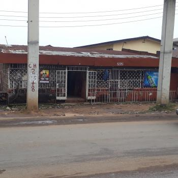 Six Rooms & Parlor with Wide Open Space and Six Lock Up Shops, Behind No. 595, Agege Motor Road, Shogunle, Oshodi, Lagos, Block of Flats for Sale