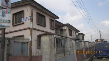 Block of 4(nos) Flats, on a Storey Building and Bungalow of 4(nos) Shops Enclosed Within The Fence, Bamgboye Street, Mushin, Lagos, Block of Flats for Sale