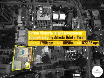 2 Units of Duplexes on a Large Large Lot, Mike Adenuga Close, Off Adeola Odeku, Victoria Island (vi), Lagos, Detached Duplex for Sale