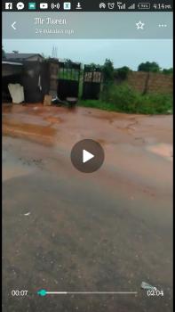 110feet By 250feet By 174feet Along Rueben Agho Gra at Benin City Edo State., Benin, Oredo, Edo, Land for Sale