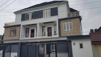 Brand New 5 Bedroom Semi-detached House with Bq, Osapa, Lekki, Lagos, Semi-detached Duplex for Sale