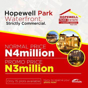 Water Front Land Strictly for Commercial, Just Few Minutes Drive From The Ftz, Ibeju Lekki, Lagos, Commercial Land for Sale