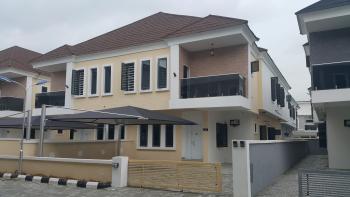 Brand New 4 Bedroom Semi Detached House with Bq with 24 Hours Power, Lafiaji, Lekki, Lagos, Semi-detached Duplex for Rent