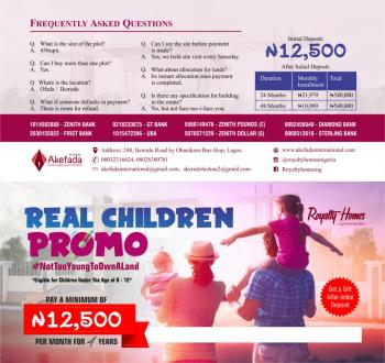 Become a Landlord, Agbowa, Ikorodu, Lagos, Residential Land for Sale