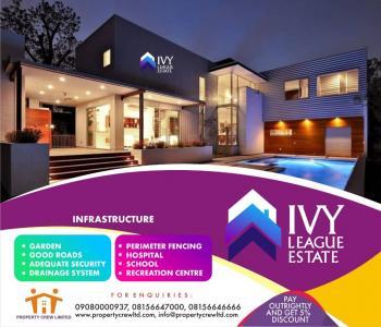 Plots of Land, Ivy League Estate, Eleko Junction, Before Amen Estate, Eleko, Ibeju Lekki, Lagos, Residential Land for Sale