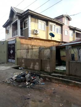 Decent 2 Bedroom, Downstairs and Upstairs with Wardrobes and Enough Parking Space, Iwaya, Yaba, Lagos, Flat for Rent