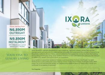 Land, Ixora Gardens, Warewa Arepo, Ojota, Lagos, Residential Land for Sale