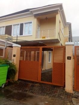 Well Built 4 Bedroom Duplex with a Room Bq, Chevron Drive, Chevy View Estate, Lekki, Lagos, Detached Duplex for Rent