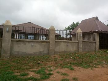 a Big and Luxury 4 Bedroom Detached Bungalow, with a Waiting Room, in a 2 Plots (100 By 100 Sqm) of Land,, Tanke Area,  Alao Farm Way, Off University Road, Tanke, Ilorin South, Kwara, Detached Bungalow for Sale