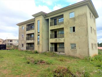 2 Blocks of 12 Units of 2-bedroom Flats (6-units per Block), 80% Complete, 2km From Oando and Nnpc Fuel Station, Abuja-keffi Expressway, Abacha Road, Karu, Nasarawa, Block of Flats for Sale